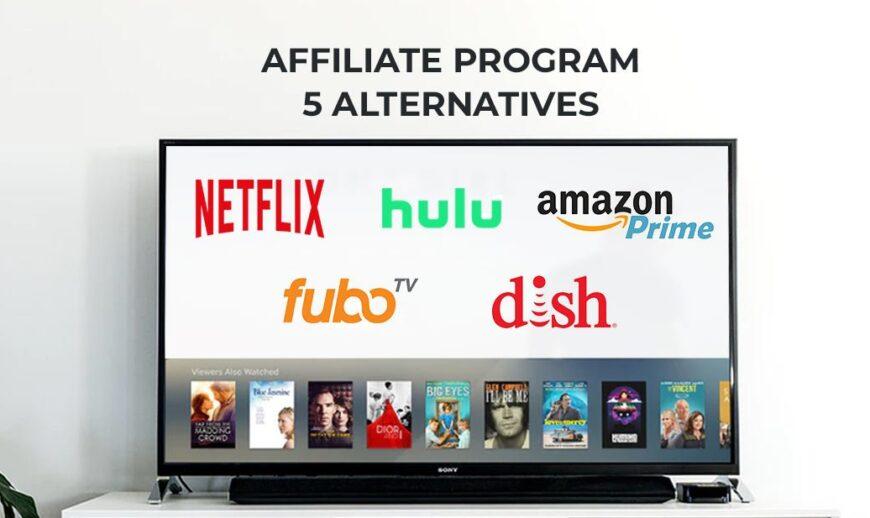 Netflix Affiliate Program – 5 Alternatives to Go for