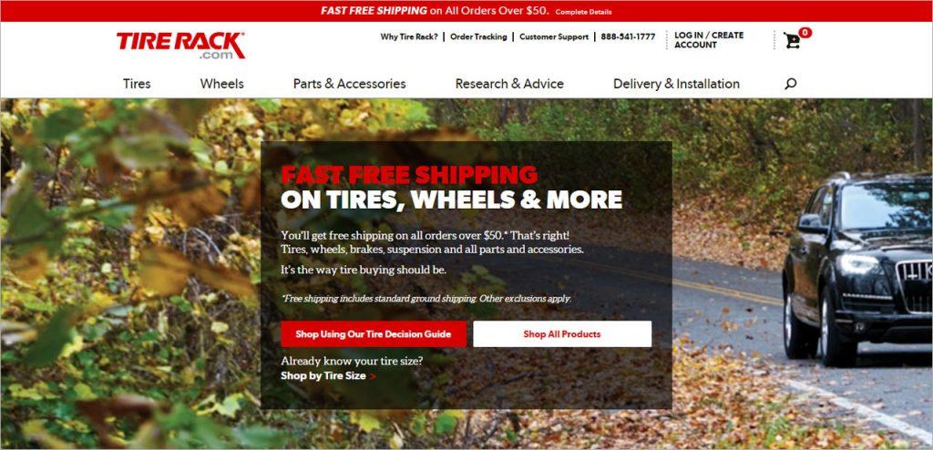 Tire Rack automotive affiliate program