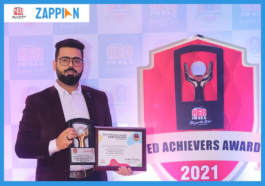 Zappian bags the prestigious Red Achievers Award 2021